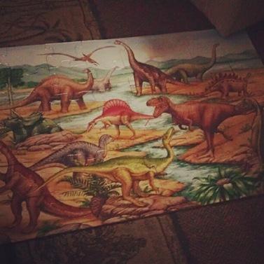 Dinosaurpuzzle
