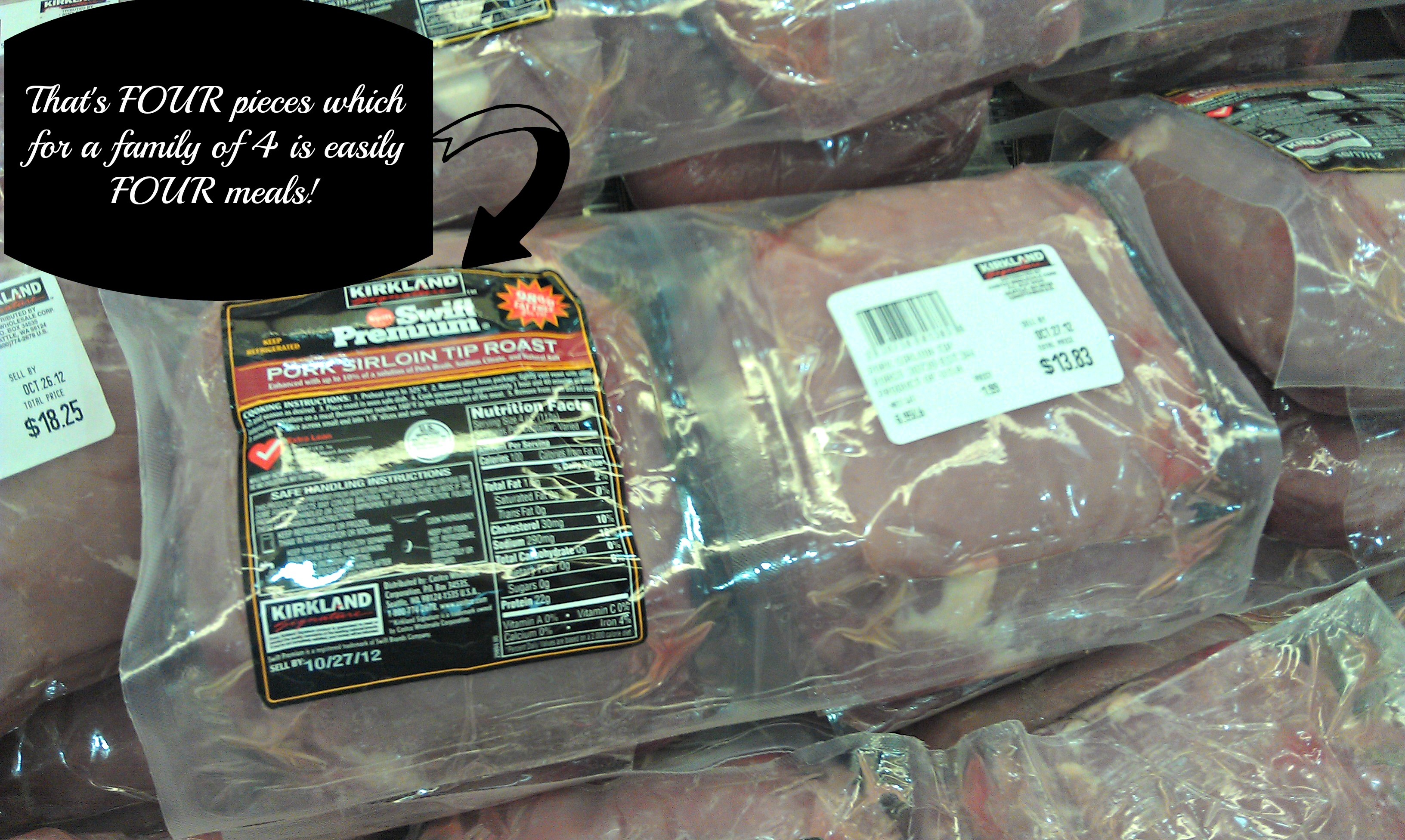 Pork is for Dinner-$50 Costco #Giveaway - Little Us