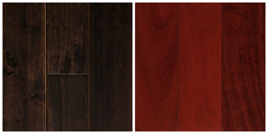 Great Dark Cherry Wood Flooring 534 x 268 - Wood Floor: Hardwood Floor Options