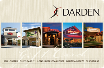 Darden Gift Card
