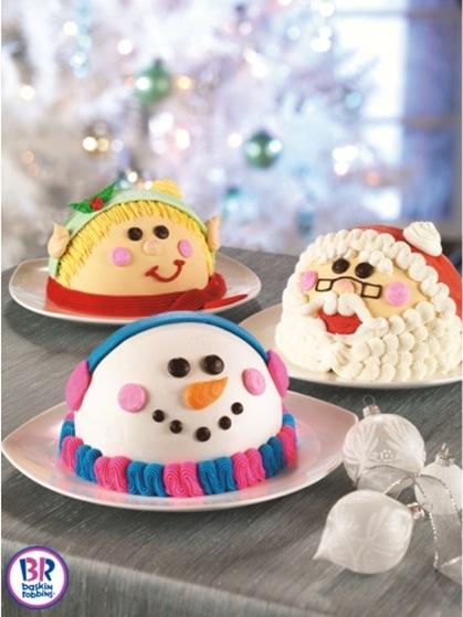 Baskin-Robbins Holiday Cakes