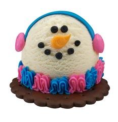 Baskin-Robbins Mini Snowman