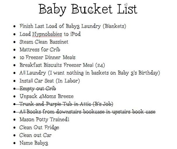 BabyBucketList