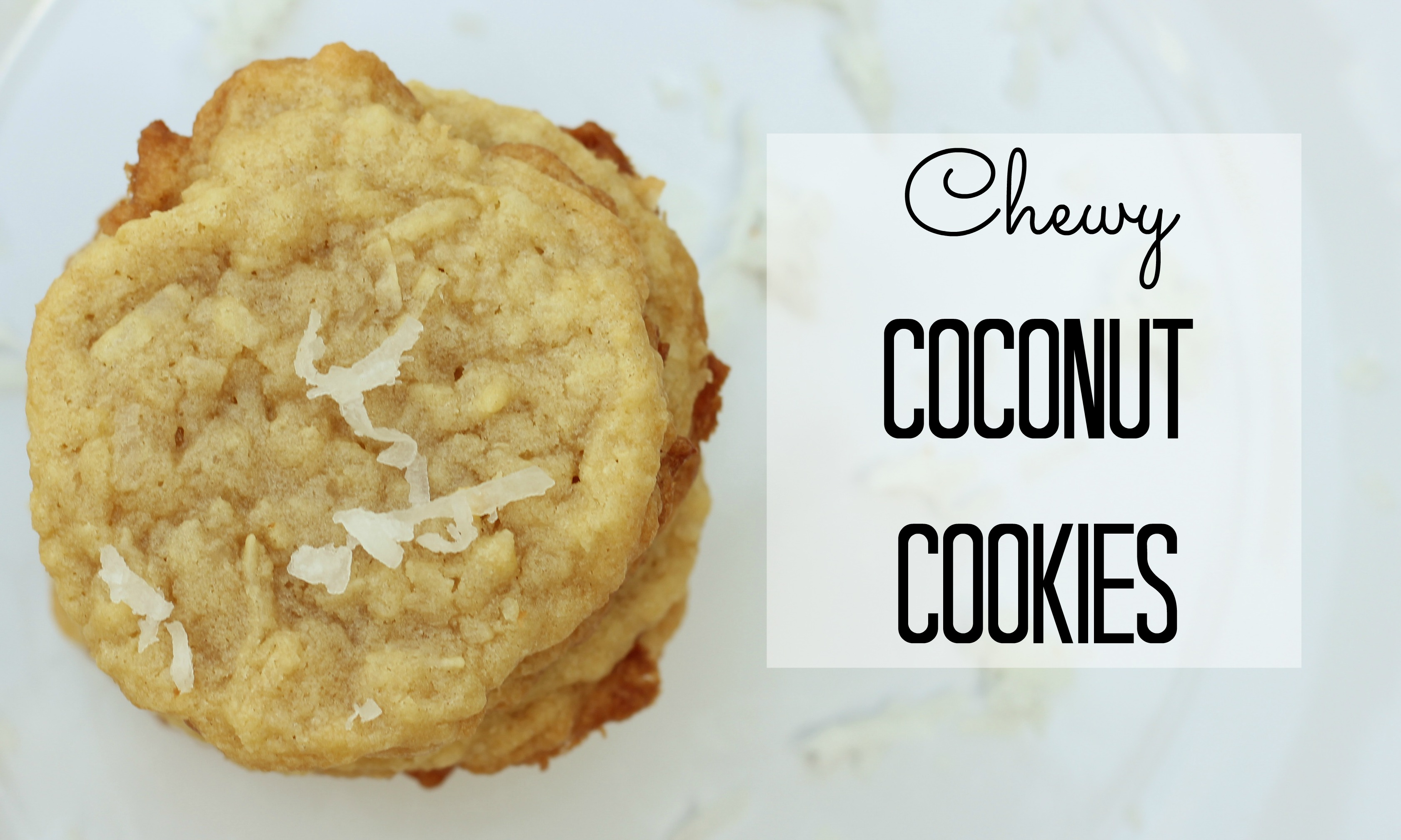 intrigued by the Coconut and was inspired to make Coconut Cookies ...