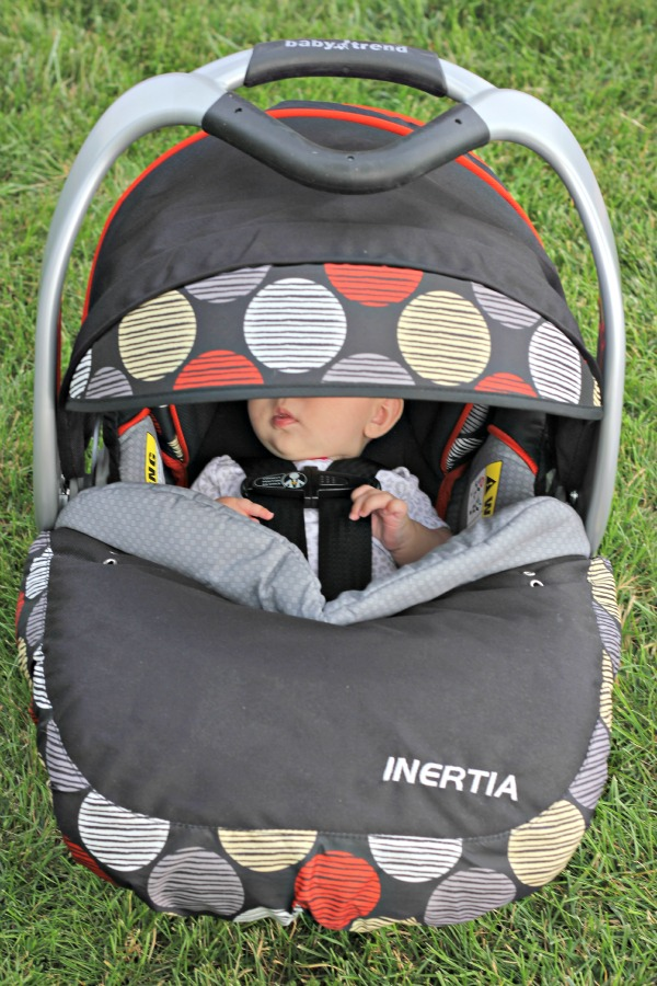 Inertia Infant Car Seat Review 5