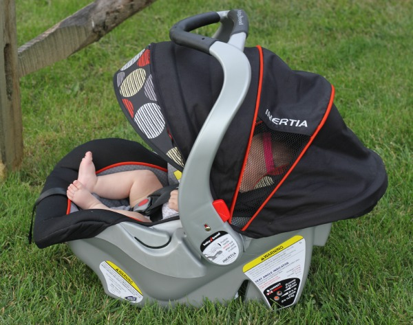 inertia infant car seat review little us. Black Bedroom Furniture Sets. Home Design Ideas