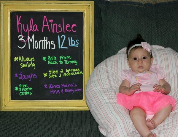 Kyla 3 Months 2