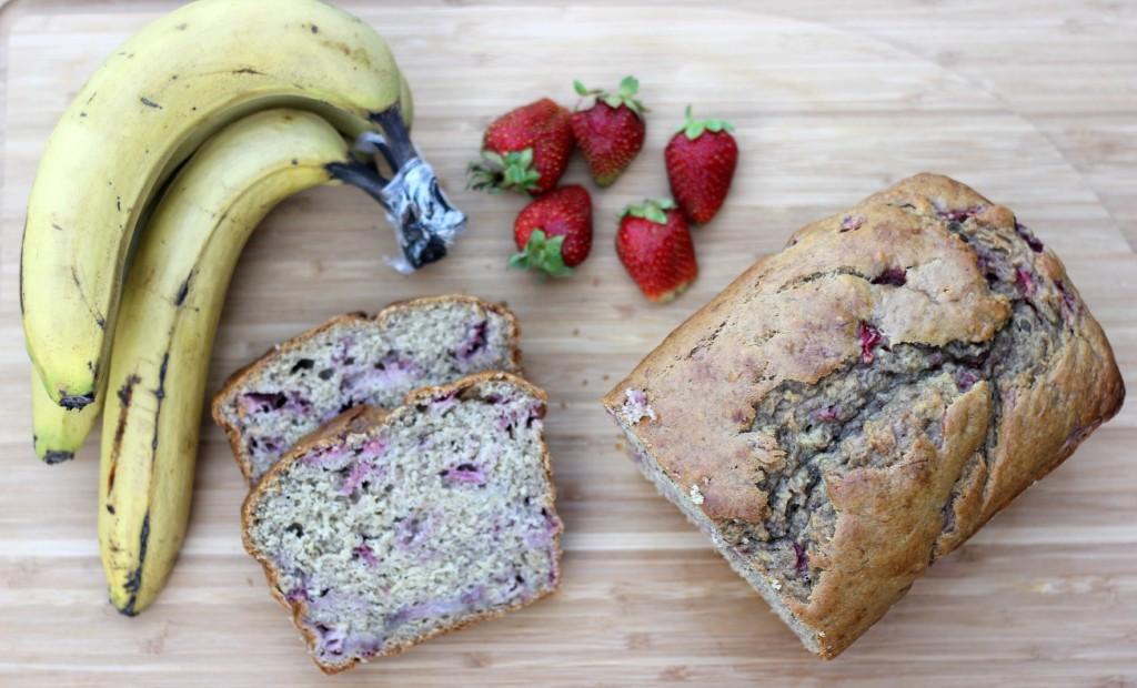 Strawberry Banana Bread A